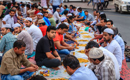 Iftar in Dubai Royalty Free Stock Photo