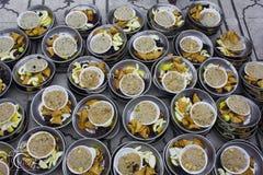Iftar na mesquita Imagem de Stock
