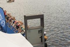 IFU-Welttriathlon Hamburg Lizenzfreies Stockbild