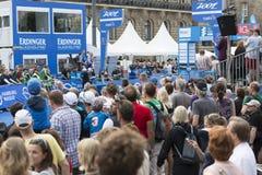 IFU-Welttriathlon Hamburg Lizenzfreies Stockfoto