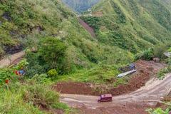 Ifugao επαρχιών βουνών Στοκ φωτογραφία με δικαίωμα ελεύθερης χρήσης