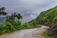 Ifugao επαρχιών βουνών Στοκ εικόνα με δικαίωμα ελεύθερης χρήσης