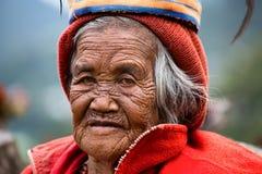 Ifugao - οι άνθρωποι στις Φιλιππίνες. Στοκ εικόνα με δικαίωμα ελεύθερης χρήσης