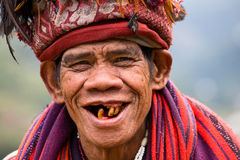 Ifugao - οι άνθρωποι στις Φιλιππίνες. Στοκ φωτογραφίες με δικαίωμα ελεύθερης χρήσης