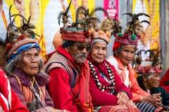 Ifugao - οι άνθρωποι στις Φιλιππίνες Στοκ Εικόνες