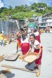 Ifugao ethnic minority in the Philippines royalty free stock image