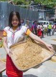 Ifugao ethnic minority in the Philippines royalty free stock photos