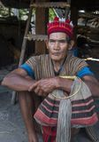 Ifugao ethnic minority in the Philippines. BANAUE, PHILIPPINES - MAY 02 : Portrait of a man from Ifugao Minority in Banaue the Philippines on May 02 2018. The Stock Photo