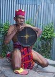 Ifugao etnisk minoritet i Filippinerna royaltyfria foton