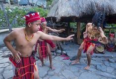 Ifugao etnisk minoritet i Filippinerna royaltyfri foto