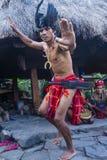 Ifugao etnisk minoritet i Filippinerna royaltyfri bild