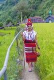 Ifugao mniejszość etniczna w Filipiny Fotografia Stock