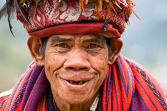 Ifugao - the people in the Philippines. Royalty Free Stock Image