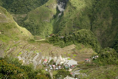Ifugao rice terraces batad philippines Stock Image