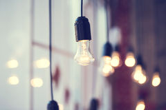 Iful Festoon Light Bulb Royalty Free Stock Photo