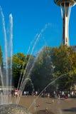 Igła i fontanna fotografia royalty free
