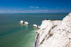 Igły wyspa UK Wight Anglia Zdjęcia Royalty Free