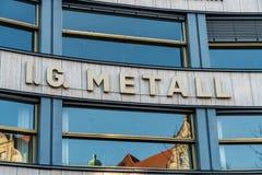 IG Metall imagen de archivo