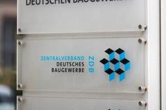 IG Metall byggnad i berlin Tyskland arkivfoto