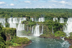 Igauzu-Wasserfall, Brasilien Stockfoto