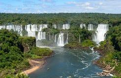 Igauzu waterfall, Brazil Stock Images