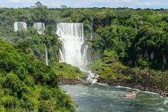 Igauzu waterfall, Brazil Stock Photo