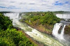 Igauzu waterfall, Brazil Stock Photos