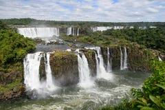 Igauzu waterfall, Brazil Royalty Free Stock Photo