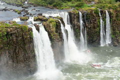 Igauzu waterfall, Brazil Royalty Free Stock Photography