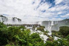 Igauzu waterfall, Brazil Royalty Free Stock Photos