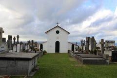 Igeldobegraafplaats in San Sebastian stock afbeelding