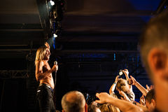 Iggy Pop concert Royalty Free Stock Images