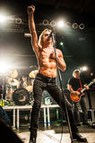 Iggy Pop concert Stock Photo