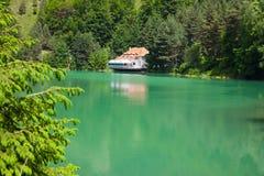 Ighiel Lake royalty free stock photos