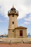 Ighthouse grao de castellon. Lighthouse in the q grao  castellon Stock Photography