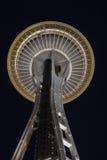 igielna noc Seattle przestrzeń Obraz Royalty Free