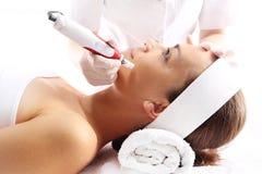 Igielny mesotherapy, zmarszczenie redukcja Fotografia Stock