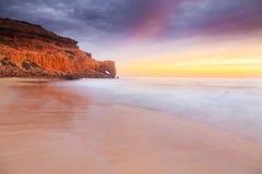 Igielny oko przy Wenus zatoką Południowy Australia Fotografia Stock