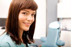 Igienista dentale Fotografia Stock