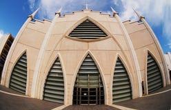 Iglesia台尔萨格拉多Corazon德赫苏斯 库存照片