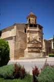 Iglesia圣・帕布鲁棕色, Ubeda,西班牙。 库存照片