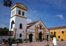 Iglesia圣多明哥, Mompox 图库摄影