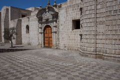 Iglesia圣多明哥 库存照片