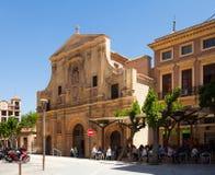 Iglesia女修道院的圣多明哥 murcia 库存图片