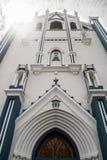 Iglesia玛丽亚Auxiliadora,利昂,尼加拉瓜 图库摄影