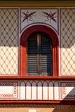 Iglesia óptica Italia del abbiate el campanario viejo de la terraza de la pared Imagen de archivo