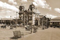 Iglesia Λα Compana de Ιησούς Στοκ Φωτογραφίες