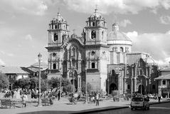 Iglesia Λα Compana de Ιησούς Στοκ εικόνα με δικαίωμα ελεύθερης χρήσης