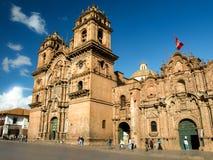 Iglesia Λα Compania de Ιησούς σε Cusco Στοκ εικόνες με δικαίωμα ελεύθερης χρήσης