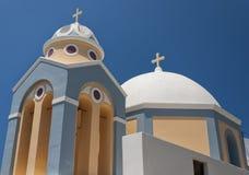 Iglesia 04 de Fira Fotos de archivo
